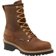 Carolina Men's Work Boot 8 inch Waterproof Logger - Brown at Sears.com