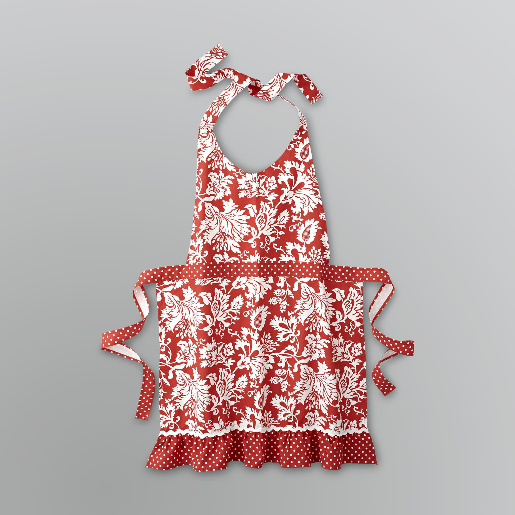 Damask Kitchen Apron