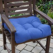 Greendale Home Fashions 20 in. Outdoor Chair Cushion, Marine Blue at Kmart.com