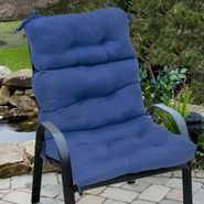 Greendale Home Fashions Outdoor High Back Chair Cushion, Marine Blue at Kmart.com