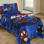 Super Mario Fleece Blanket at Kmart.com