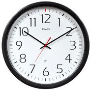 Timex Wall Clock Plastic Black at Kmart.com