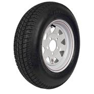 Carrier Star ST175/80D-13 LRC Trailer Tire and 5-Hole Custom Spoke Wheel at Sears.com