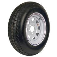 Carrier Star ST205/75D-15 LRC Trailer Tire and 5-Hole Custom Spoke Wheel at Sears.com