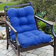 Greendale Home Fashions Outdoor Seat/Back Chair Cushion, Marine Blue at Kmart.com