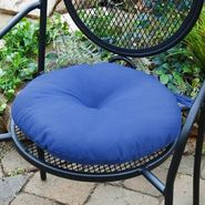 Greendale Home Fashions 15 in. Round Outdoor Bistro Chair Cushion, Set of Two, Marine Blue at Kmart.com