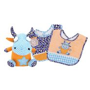 Trend-Lab DREAMSICLE BIB AND BUDDY SET at Kmart.com