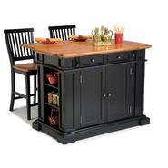 Home Styles Kitchen Island and Two Stools at Kmart.com