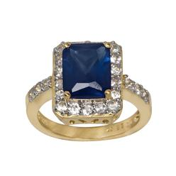 Lab Created Blue and White Sapphire Ring at Kmart.com