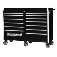 "International Professional 54"" 13-Drawer Ball Bearing Slides Roller Cabinet Black at Sears.com"