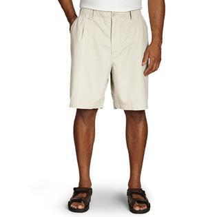 Island Outfitters Elastic-Waist Linen-Blend Shorts