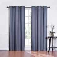 Eclipse Curtains Kent Grommet Thermapanel Solid Color Stripe Thermaback - Wedgewood at Kmart.com