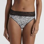 Enchanted Edge Women's Lace-Trim High-Cut Panties at Sears.com