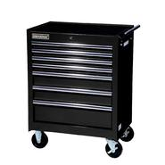"International 27"" 7-Drawer Ball Bearing Slides Roller Cabinet Black at Sears.com"