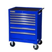 "International 27"" 7-Drawer Ball Bearing Slides Roller Cabinet Blue at Sears.com"