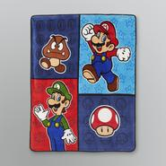 Super Mario Fleece Throw at Kmart.com