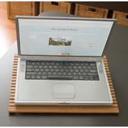 Lipper Bamboo Slanted Laptop Computer Tray/Holder Slatted at Sears.com