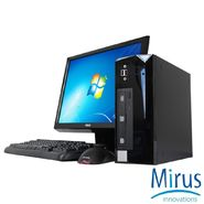 "Mirus Student Desktop: Intel Core-i3 2120 3.30GHz, 4GB, 500GB, DVD+/-RW, Windows 7 Home, w/ Keyboard, Mouse, and 19"" Monitor at Kmart.com"