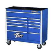 "Extreme Tools 41"" 11 Drawer Standard Roller Cabinet in Blue at Kmart.com"