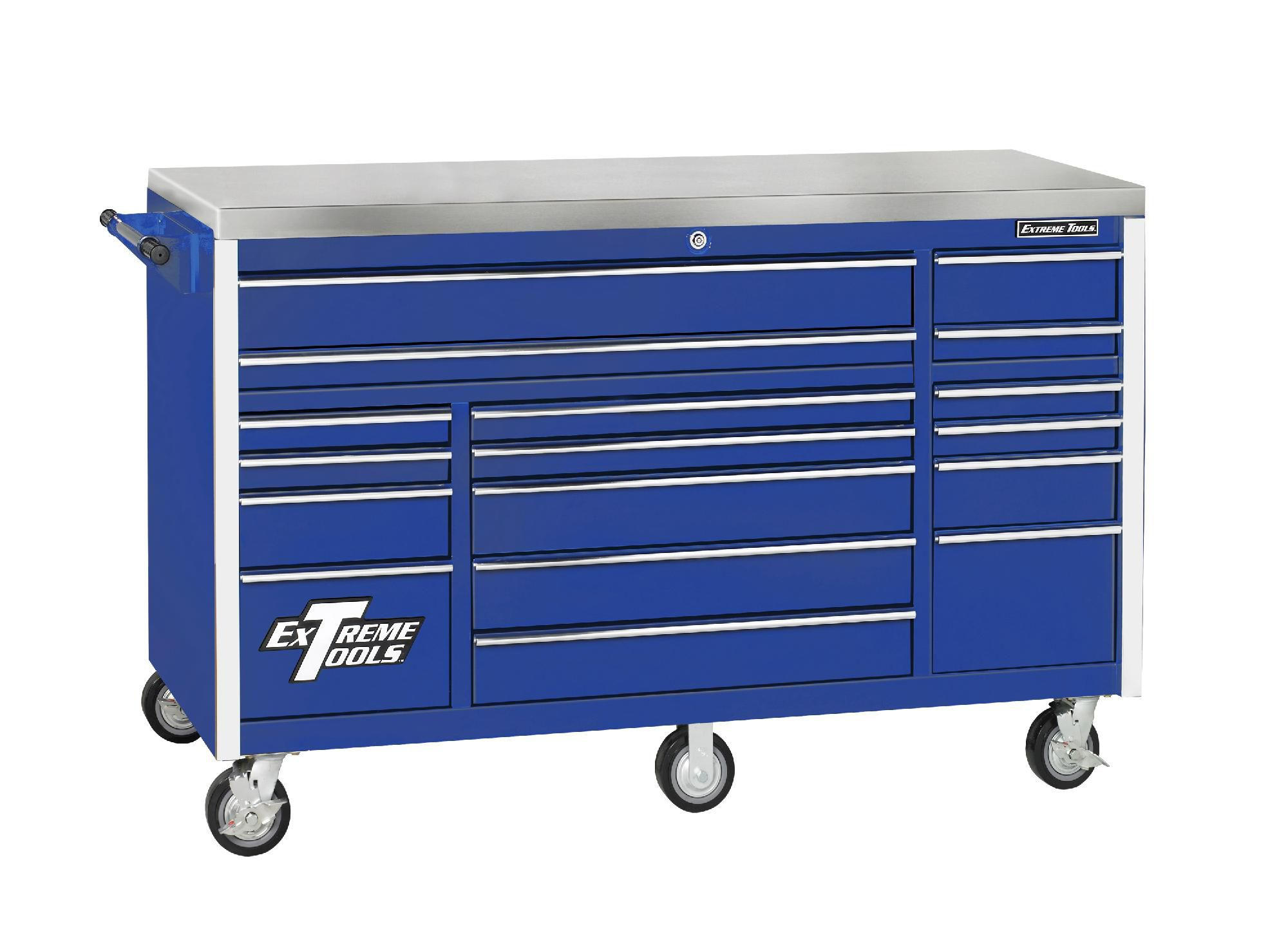 Extreme Tools  72'' 17 Drawer Triple