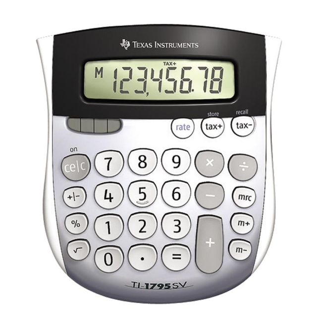 Texas Instruments TI-1795SV Calculator with