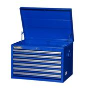 "International 27"" 6-Drawer Ball Bearing Slides Top Chest Blue at Sears.com"