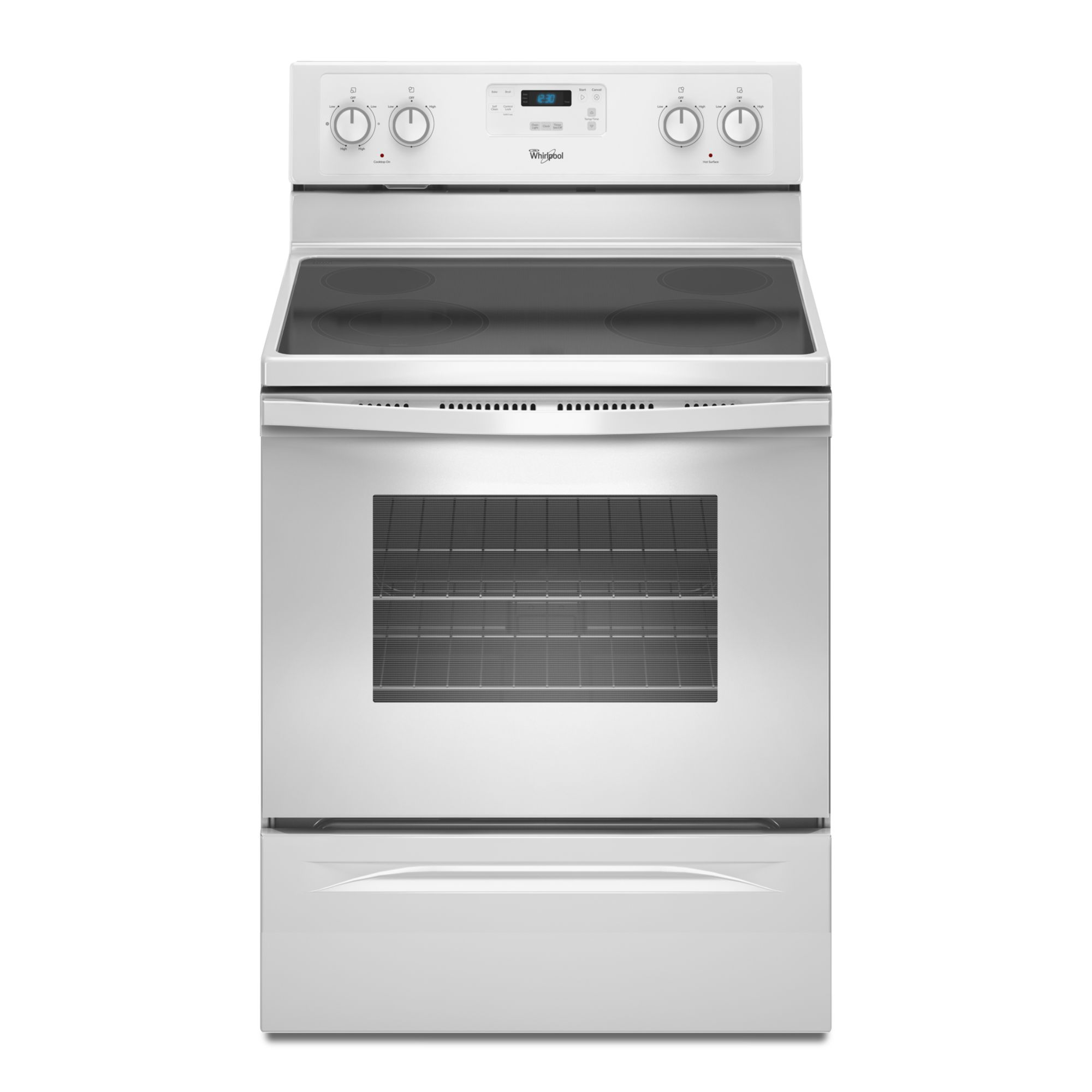 4.8 cu. ft. Self-Cleaning Electric Range - White