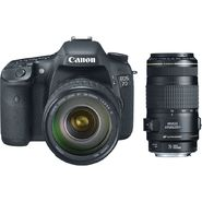 Canon 3814B010L2-KIT EOS 7D 18MP Digital SLR Camera EF-S 28-135mm IS Lens and EF 70-300mm Telephoto Zoom Lens at Sears.com