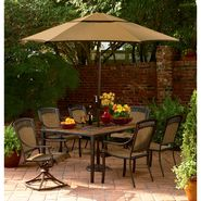 Simply Outdoors Oakwood 7 Pc. Dining Set at Sears.com