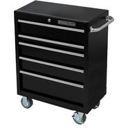"Extreme Tools 30"" 5 Drawer Standard Roller Cart in Textured Black at Kmart.com"