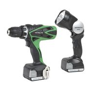 Hitachi 14.4V Lithium Ion Driver Drill w/ Flashlight DS14DSFL at Kmart.com