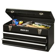 Stack-On 20 in. 2-Drawer All Steel Portable Tool Chest - Black at Kmart.com