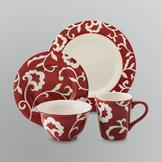 Sandra by Sandra Lee 16-Piece Dinnerware Set at mygofer.com