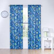Eclipse Curtains Woodstock Thermapanel Tie Dye Printed Room Darkening Blue at Kmart.com