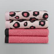 Essential Home Hollywood Glam Washcloth Set - Four Pack at Kmart.com