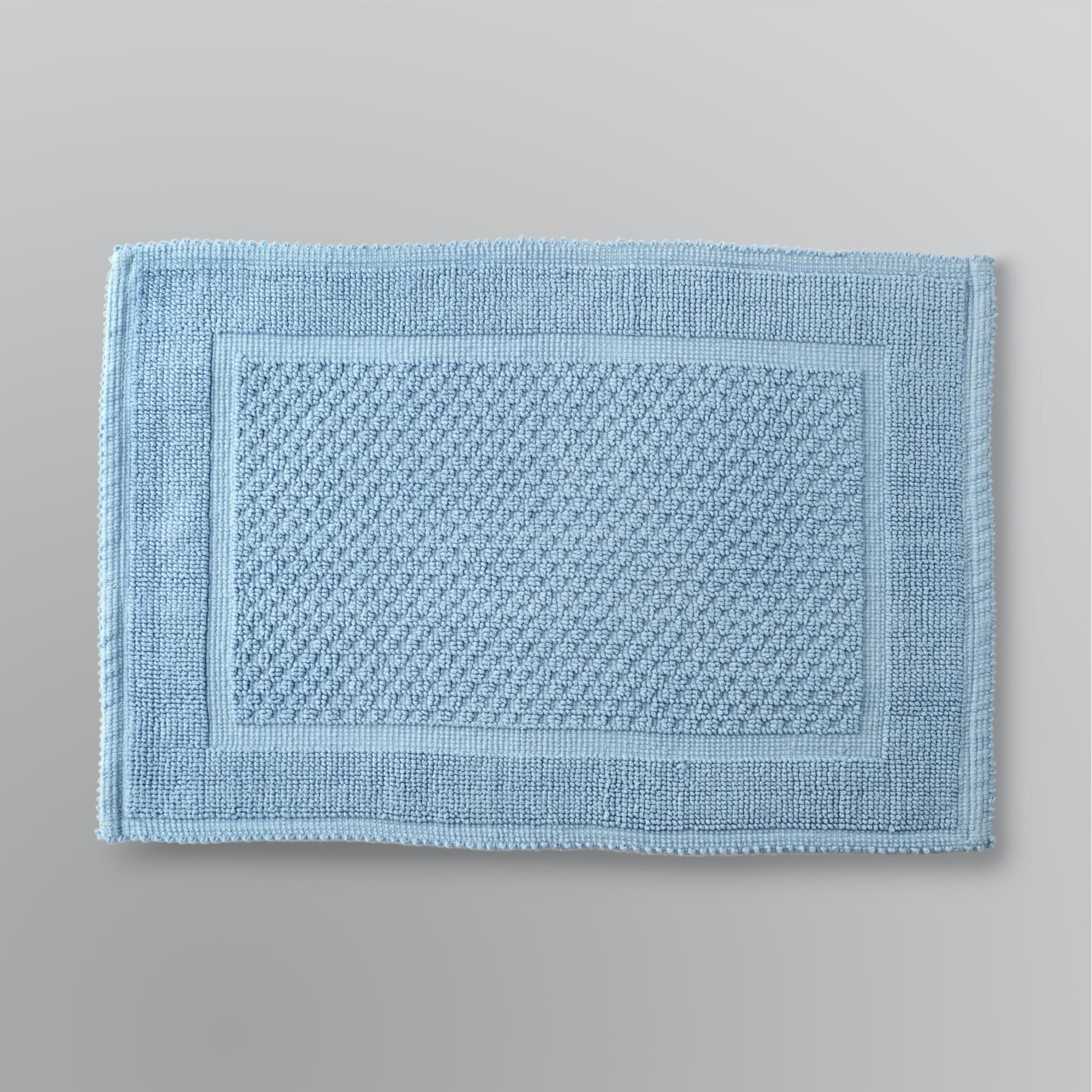 Country Living  Gabriella Blue Bath Rug