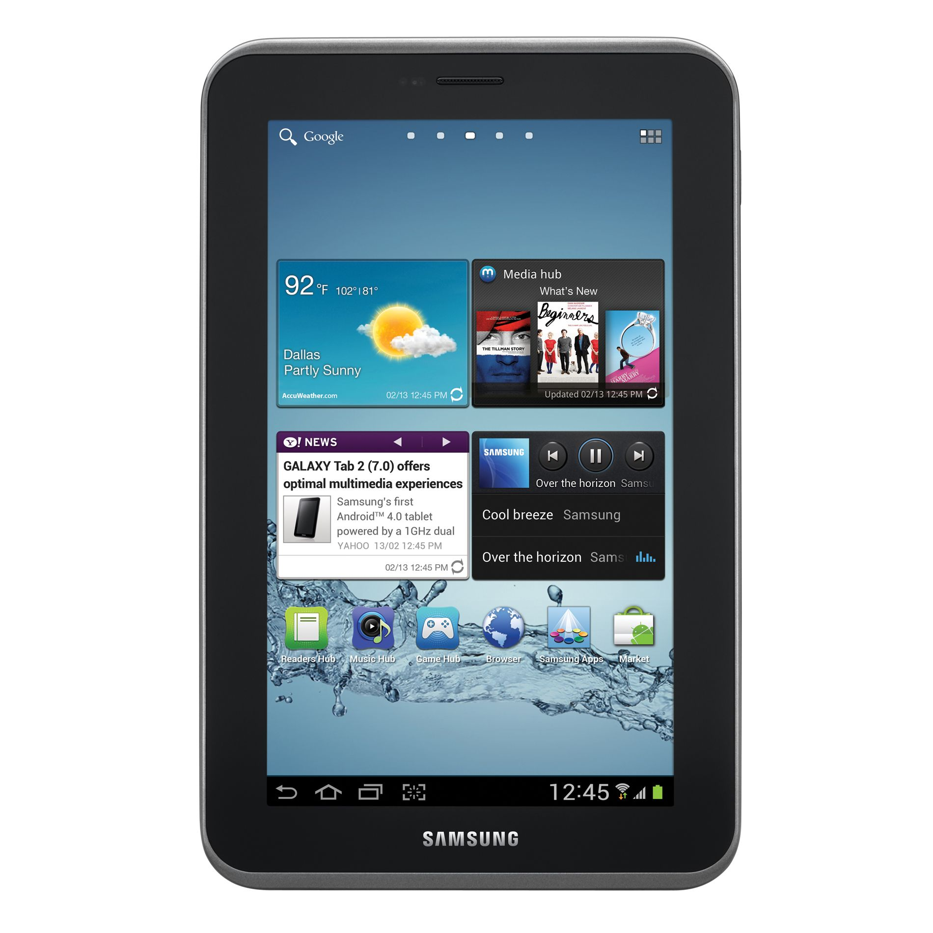 "Samsung  7"" Galaxy Tab 2 with"