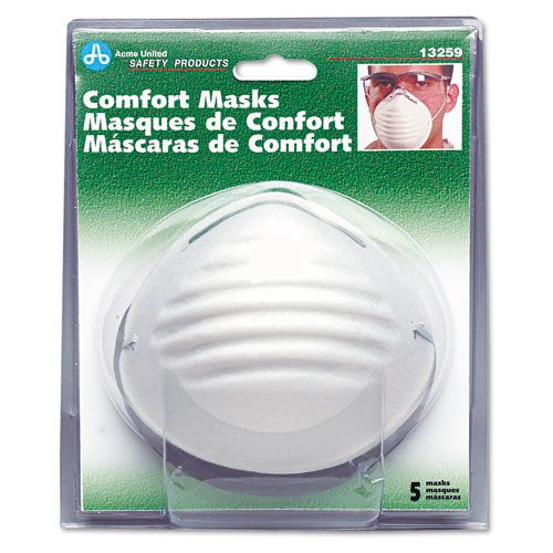 Acme United  Comfort Dust Masks, 5 per Pack