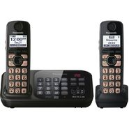 Panasonic KX-TG4742B DECT 6.0 Plus Expandable Digital Cordless Answering System with 2 Handsets at Sears.com