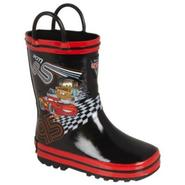 Disney Toddler Boy's Weather Boot Cars - Black at Kmart.com