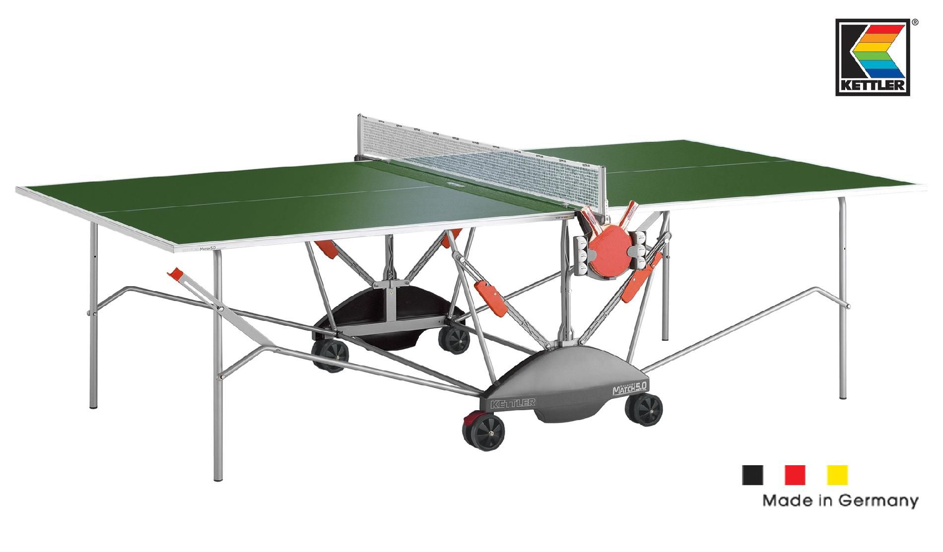 Buy table tennis outdoors kettler - Kettler® Match 5.0 Outdoor Green Table Tennis
