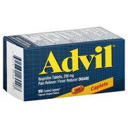 Advil Ibuprofen 200 mg Coated Caplets 100 Count Bottle at Kmart.com