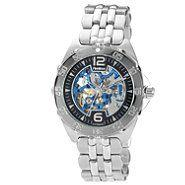 Armitron Men's Silver Tone Automatic Skeleton Watch at Sears.com
