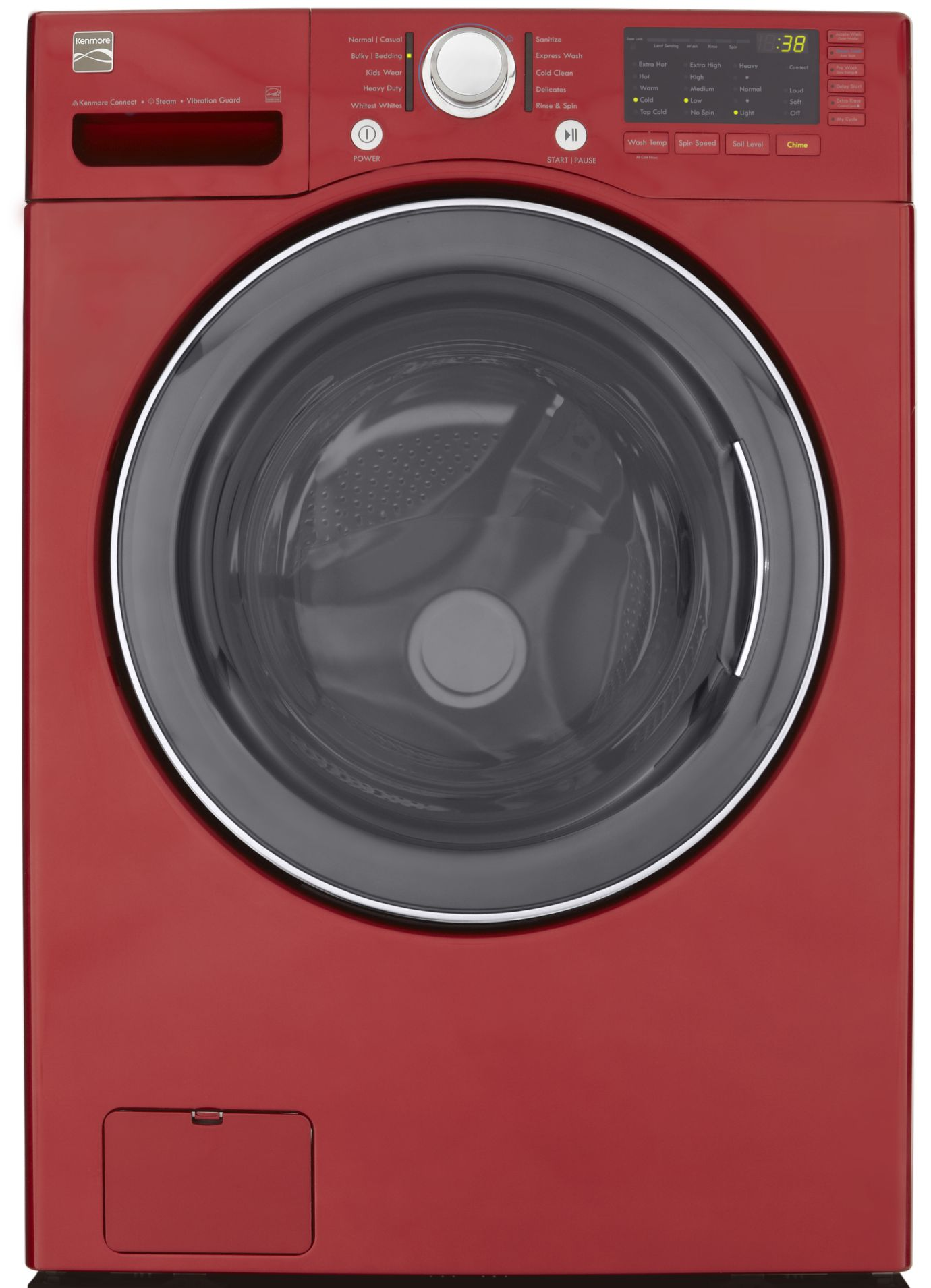 Kenmore  3.7 cu. ft. Steam Front-Load