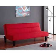 DHP Kebo Futon Red at Kmart.com