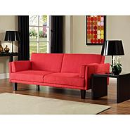 DHP Metro Futon Red at Kmart.com