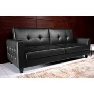 DHP Rome Sofa Bed Black at Kmart.com