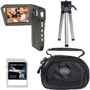 Coby CAM5005-4-KIT SNAPP Digital HD Camcorder, 8GB SD Card, Case and Mini Tripod at Sears.com