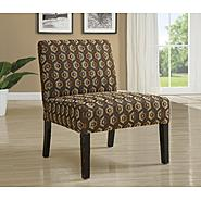 Monarch Specialties Diamondback Fabric Accent Chair at Kmart.com