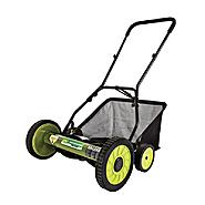 Sun Joe Mow Joe 18 Inch Manual Reel Mower with Catcher at Sears.com